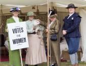 Votes for women — Stock Photo