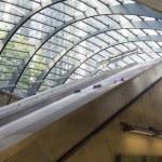 Canary Wharf tube station — Stock Photo #54498061