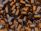 3D Capacitors — Stock Photo