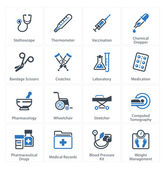 Medical & Health Care Icons Set 1 - Equipment & Supplies — Stock Vector