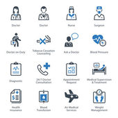 Medical & Health Care Icons Set 2 - Services — Stockvector