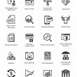 Personal & Business Finance Icons - Set 1 — Stock Vector #63106903