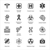 Medical & Health Care Icons - Set 1 — Stock Vector