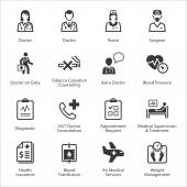 Medical & Health Care Icons Set 2 - Services — Stock Vector