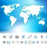World Map — Stock Vector #53466959