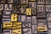 Blog in wooden typeset — Stock Photo