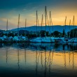 Yachts in the bay of Athens — Stock Photo #54961767