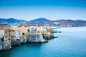 Greece Syros island — Stockfoto