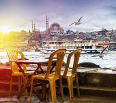 Die Hauptstadt der Türkei Istanbul — Stockfoto