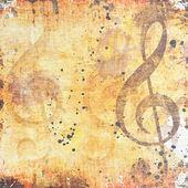 Musical grunge background — Stock Photo