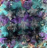 Abstracte grunge sterren — Stockfoto