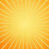 Explosión de sol naranja — Foto de Stock
