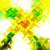 Abstract glowing background — Stock Photo
