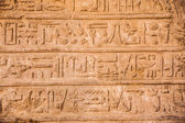 Old egypt hieroglyphs on the stone — Stock Photo