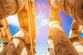 Great Hypostyle Hall at Temples of Karnak — Stock Photo