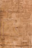 Old egypt hieroglyphs on the stone — 图库照片