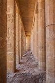 Colonne nel tempio di karnak — Foto Stock
