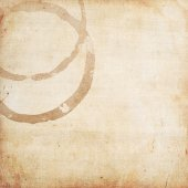 Coffee ring stains — Stock Photo