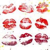 Beautiful color lips — Stock Photo