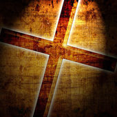 Christianity representation with the symbol — Stock Photo
