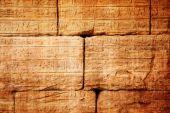 Gamla egypten hieroglyfer — Stockfoto