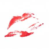 Beautiful pink lips — Stock Photo