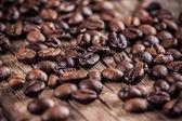 Rostade kaffebönor — Stockfoto