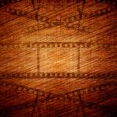 Vintage background with film frame — Stock Photo