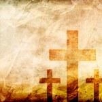 Close-up of Three Crosses — Stock Photo #71721521