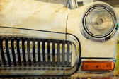 Phare de voiture rétro — Photo