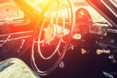 Classic vintage car — Stockfoto
