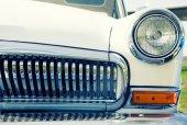 Retro auto reflektor — Stock fotografie