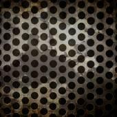 Metall-Hintergrund mit Flecken — Stockfoto