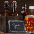 Craft beer glass — Stock Photo #57806435