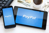 PayPal payment system logo — Stock Photo
