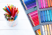 Crayons de couleur multi — Photo