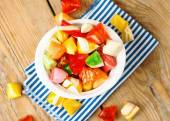 Bowl with colorful sweet candies — Stock Photo