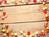 Colorful sweet candies — Stock Photo