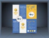 Business Flyer, Brochure or Catalog Cover Vector Design Template — Stockvektor