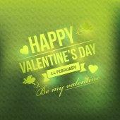 Valentine's Day Badges — Stock Vector