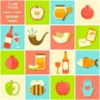 Icons for Rosh Hashana — Stock Vector #52372867