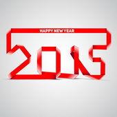 с новым годом к 2015 году празднование фон — Cтоковый вектор