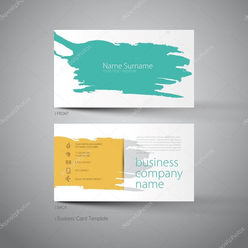 Custom Card Template art business cards : Art business card template u2014 Stock Vector u00a9 matju78 #83164210