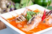 Tom yum soup — Stock Photo
