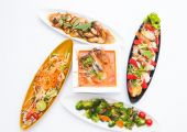 Thai food set — Stock Photo