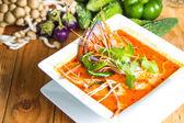 Tom tum soup — Stock Photo