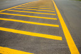 The yellow line  — Stock Photo