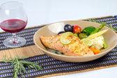 Filete de salmón — Foto de Stock