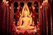 Phra phuttha chinnarat — Stock Photo