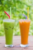 Thai Ice Tea milk — Stock Photo